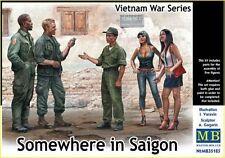 En algún lugar en Saigón, Vietnam Guerra Serie 1/35 Master Box MAS35185
