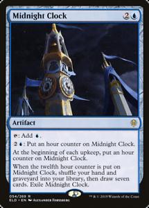 x1 Midnight Clock ELD MTG Eldraine 54//269 RARE M//NM 1x