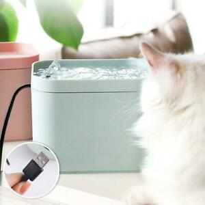 Pet-Puppy-Smart-Water-Dispenser-Cat-Dogs-Automatic-Water-Fountain-USB-Cable