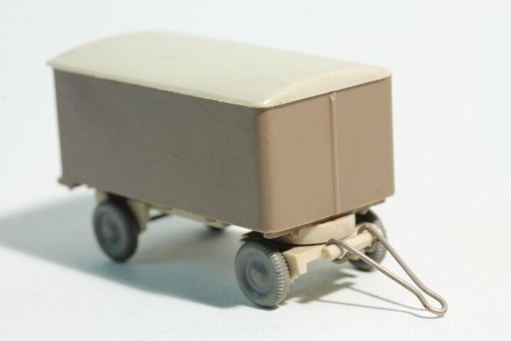 549 Wiking valise-Remorque Transporteur Sans inscriptions  1959 - 1960 blaßmarron