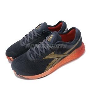 Reebok-Nano-9-Marine-Rosette-Sunglow-Hommes-CrossFit-Training-Baskets-Chaussures-EG0600