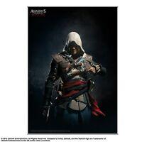 Assassins Creed Iv Edward Kenway Shadows Black Flag Vol 2 Wall Scroll