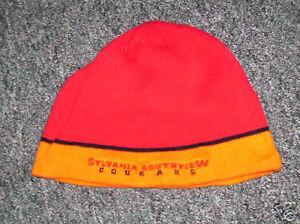 SYLVANIA-SOUTHVIEW-COUGARS-knit-beanie-HS-Ohio-hat