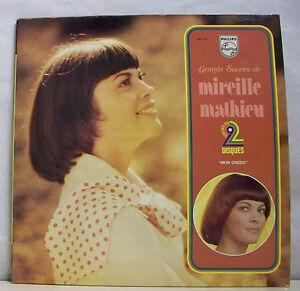 2-x-33-tours-Mireille-MATHIEU-Disk-LP-12-034-GRANDS-SUCCES-PHILIPS-6641231-RARE