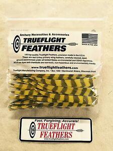 Trueflight Feathers 2 Inch Shield Cut Green RW Qty 50
