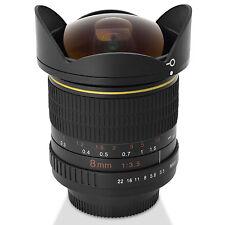 Digitalmate 8MM Aspherical Super Wide Angle Fisheye Lens for Nikon 1 Digital