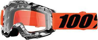 100Percent Accuri Adult Goggles, Voltaire With Clear Lens, One Size
