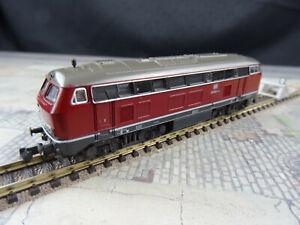 Fleischmann 7232 N Diesellokomotive BR 210 FPim172 Guter gebrauchter Zustand OVP