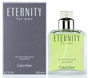 ETERNITY for Men by CALVIN KLEIN 6.7 oz 6.8 edt New in box