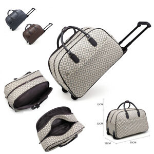 Designer-Weekend-Bag-Unisex-Trolley-Holdall-Hand-Luggage-Holiday-Handbag-M101-13