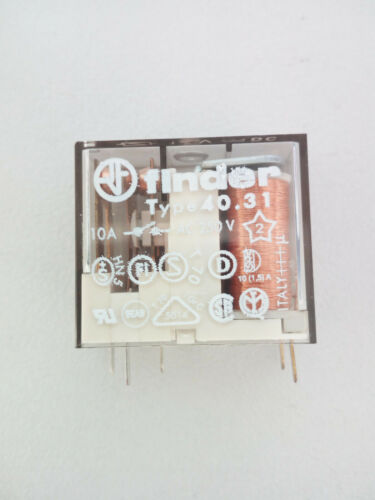 10 A 1 Wechsler RM 5 Finder Leistungs-Printrelais 40.31-12V