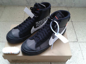 Nike-Off-White-Blazer-black-US-7-5-EU-40-5-AA3832-001-nuove-originali