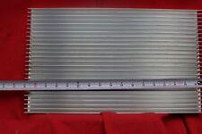 Aluminum Heat Sink Large 17 X 10 X 1 38 6 32 Holes Weight 97lbs