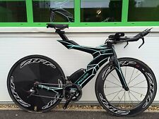 Futuristic £5000 FALCO V TT Triathlon SRAM Red  (Shiv Bars P5 Stem) 3k £