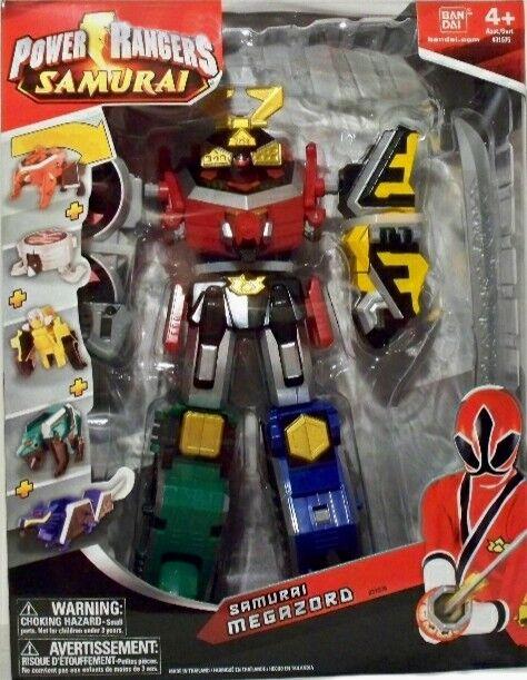 Power Rangers Samurai Megazord Deluxe Sellado de fábrica 2011