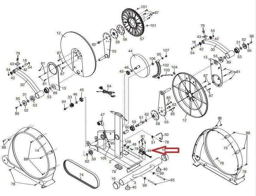 Buy Nordictrack Proform Epic Freemotion Resistance Motor Brake