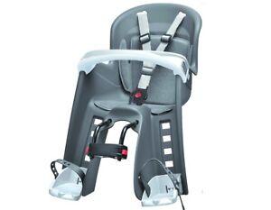 polisport bilby junior grau fahrrad kindersitz fahrradsitz. Black Bedroom Furniture Sets. Home Design Ideas