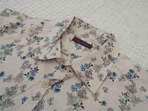 Ted-Baker-Camisa-Para-Hombres-Talla-4-40-034-pecho-RRP-110-fantasticamente-Floral