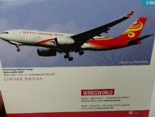 Herpa Wings 1:500 Airbus A330-200F Hong Kong Airlines Cargo 527378