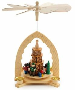 image is loading german christmas pyramid 12 034 nativity play tiled