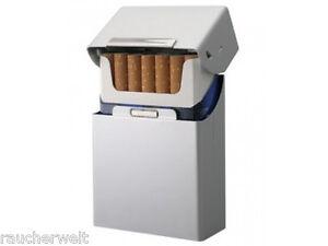 100 mm Zigaretten Box Dose Etui Edel Design Farbton Silber Top Marken Qualität