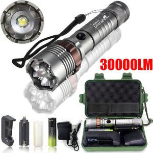 X800 150000LM CREE XML T6 LED Flashlight Torch Work Light Headlamp Headlight UK