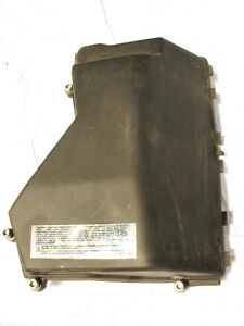 bmw e46 m3 computer fuse box dme ecu engine cover plastic