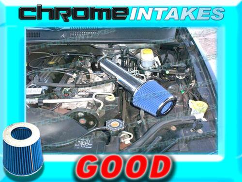 BLACK BLUE 1991-2004 JEEP CHEROKEE//GRAND 2.5 2.5L I4 4.0L I6 AIR INTAKE KIT 2