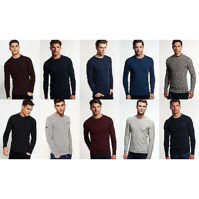 Men's Superdry Knitwear in Various Styles and Colours