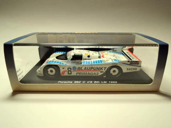 Spark-BAM 1 43 Porsche 962 C  8 Le Mans 1989 very rare BAM003