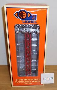 Sonstige Lionel Christmas Red Floodlight Tower