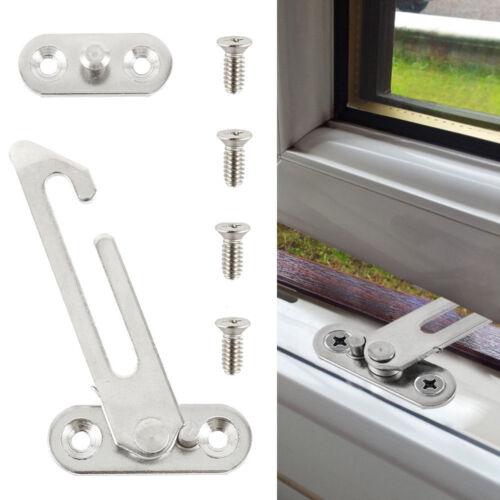 Fenêtre Sécurité Bride Enfant Bébé Sécurité Lock Catch PVC Porte Ventilateur 1//2