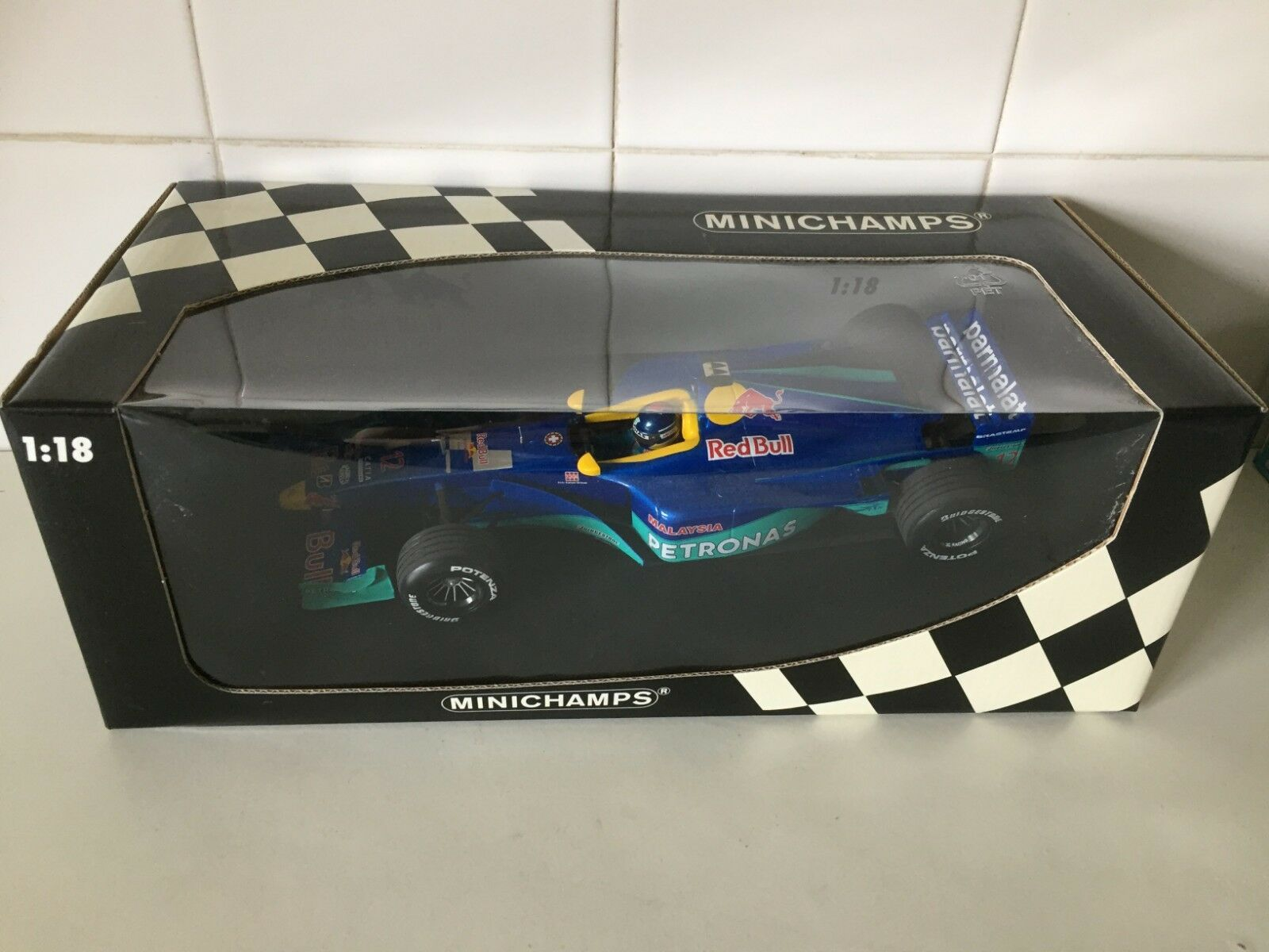 MINICHAMPS   F1 - SAUBER F1 TEAM - PEDRO  DINIZ  - 1 18 SCALE Modelll CAR