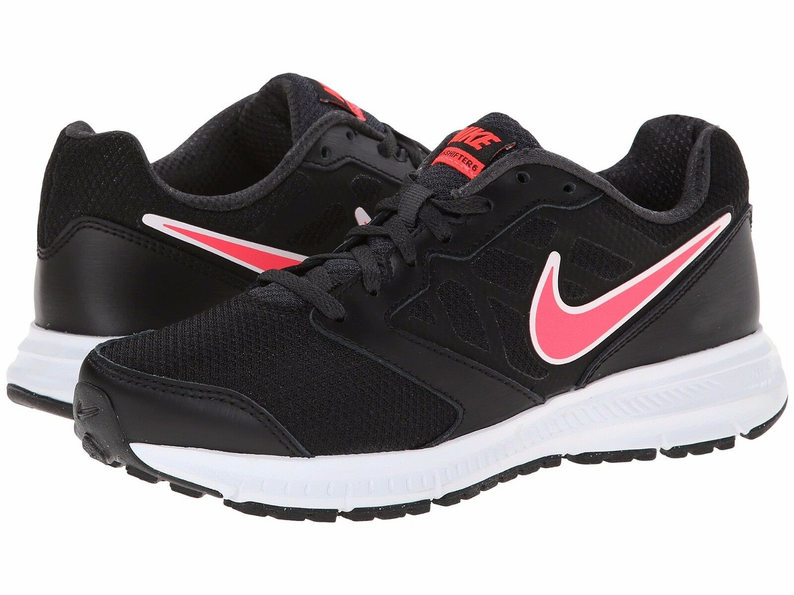 Nike Women's Downshifter 6 Running Shoes, 684765 002 Sizes 5-10 Black/Hyper Punc