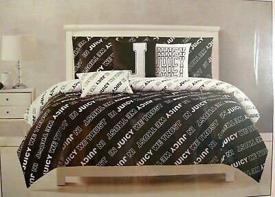 New With Tags Juicy Couture 6 Piece Comforter Set Full