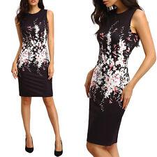 HOT 2017 Women Summer Sleeveless Floral Evening Short Mini Dress Hot Sell Nice