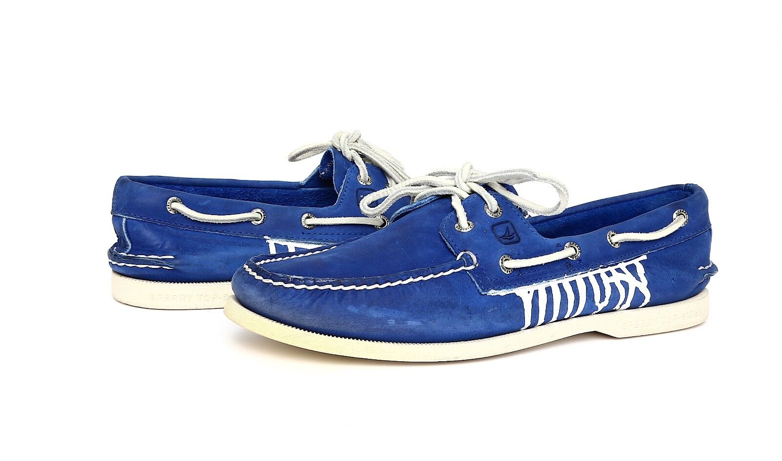 Sperry Top Sider Men's bluee Leather Authentic Original Eye Boat shoes Sz 9M 2194