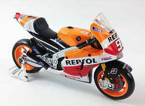 Marc Marquez Usine Repsol Honda Moto Gp Moulé Jouet Modèle Vélo Maisto 1:18