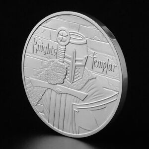 Medieval-crusaders-Commemorative-Coin-Collection-Gift-Souvenir-Art-Metal-Antiqu