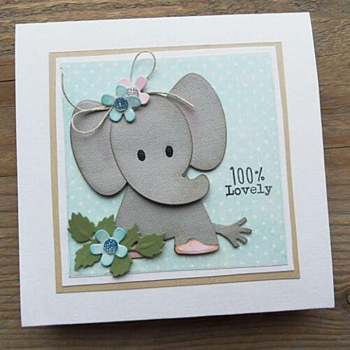 Marianne Design Collectables Cutting Dies Eline/'s Elephant COL1384