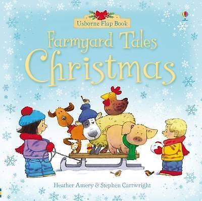 Farmyard Tales Christmas Flap Book, Amery, Heather, Good Book