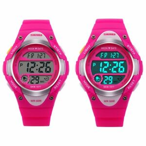 62ad0d92f Image is loading Kids-Watches-Waterproof-Sport-Electronic-Digital-Wrist- Watch-