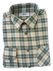 Gr Jagdhemd Country Holzfällerhemd 39//40 Freizeithemd Hemd Flanellhemd