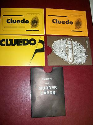 escolha de estilos disponíveis Envelope de cartão assassinato substituição//reposição para CLUEDO