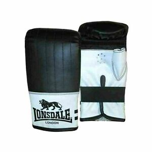 Lonsdale London Contender Bag Mitts Boxing Gloves Fitness Training S//M A573