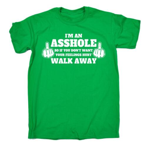 Funny T Shirt Im An Asshole Birthday Joke tee Gift Novelty tshirt T-SHIRT