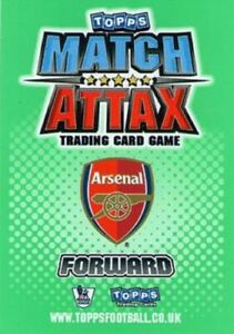 MATCH ATTAX  2010/2011  2010 /11  TEAM SET OF CARDS BY TOPPS      CHOOSE