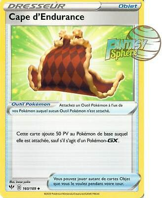 Carte Pokemon CAPE D/'ENDURANCE 160//189 REVERSE Epée et Bouclier 3 EB03 FR NEUF