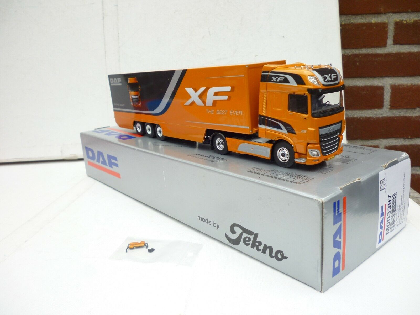 1 50 TEKNO DAF XF PROMO MODEL DAF XF EURO 6 BEST XF EVER MINT BOXED RARE