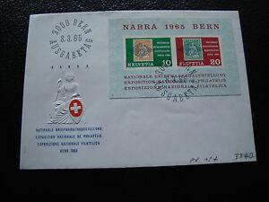 Switzerland-Envelope-1er-Day-8-3-1965-cy57-Switzerland